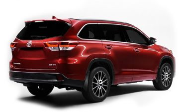 Rent Toyota Highlander or Similar