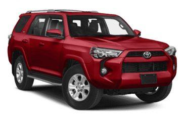 Rent Toyota 4Runner or Similar - Winter Tires