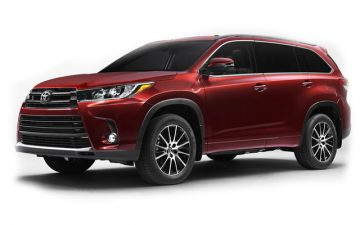 Rent Toyota Highlander or Similar - Winter Tires